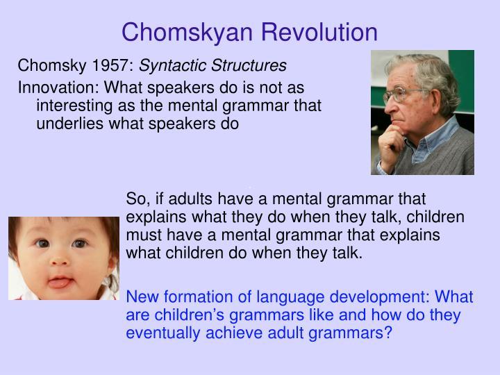 Chomskyan Revolution