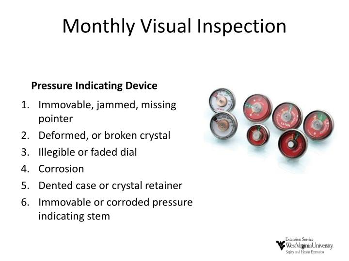 Monthly Visual Inspection