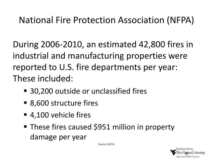 National fire protection association nfpa