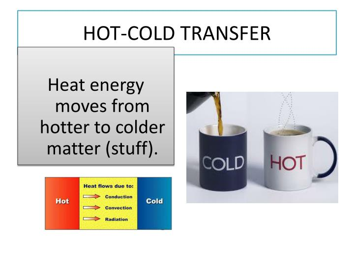 HOT-COLD TRANSFER