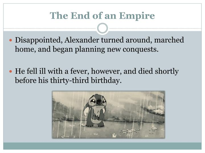 The End of an Empire