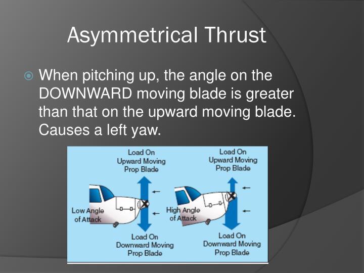 Asymmetrical Thrust
