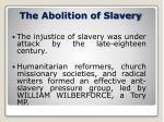 the abolition of slavery3
