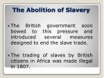 the abolition of slavery4