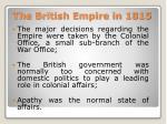 the british empire in 18152
