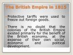 the british empire in 18156