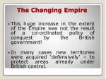 the changing empire1