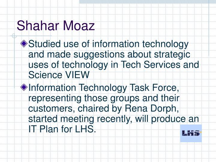 Shahar Moaz