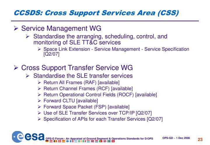 CCSDS: