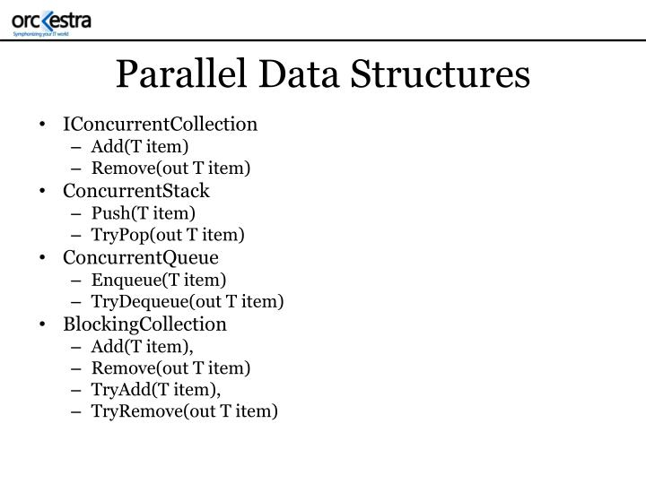 Parallel Data Structures