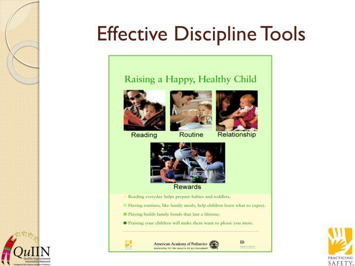 Effective Discipline Tools