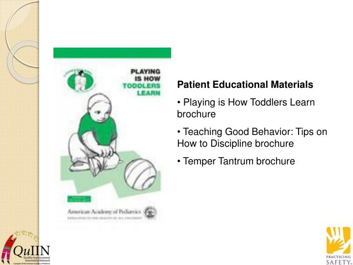 Patient Educational Materials