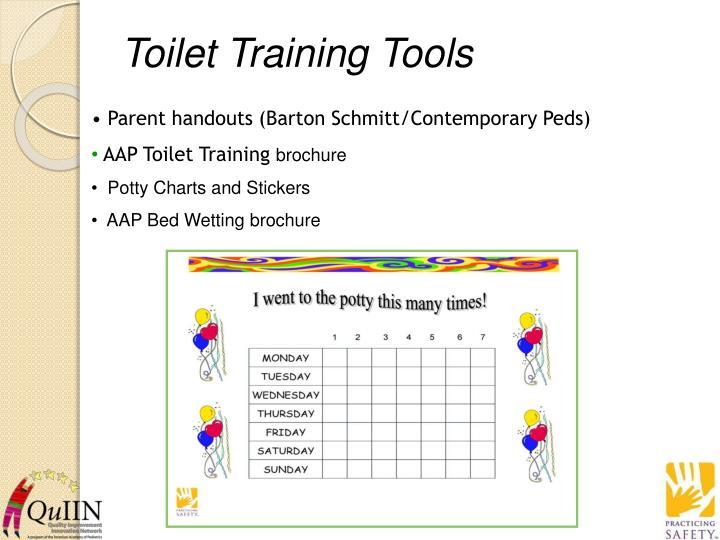 Toilet Training Tools