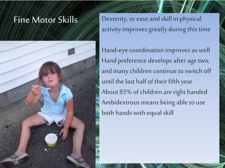 Fine Motor Skills