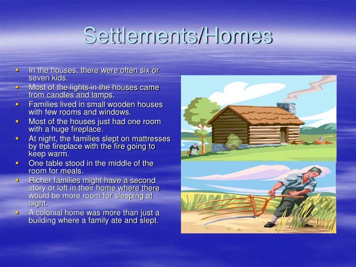 Settlements/Homes