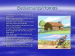settlements homes