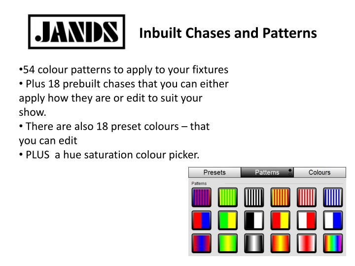 Inbuilt Chases and Patterns