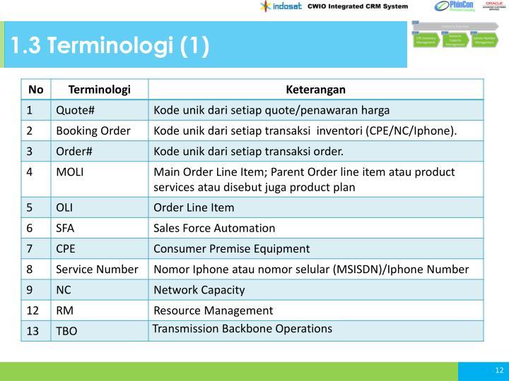 1.3 Terminologi (1)