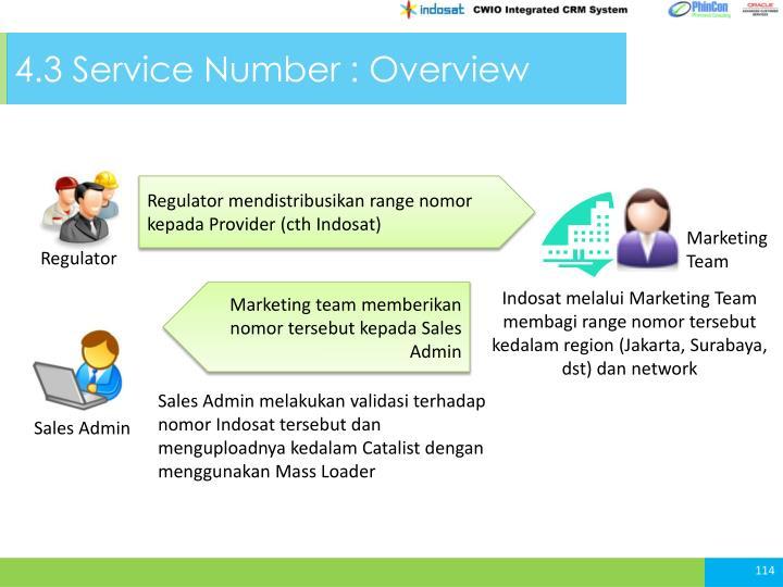 4.3 Service
