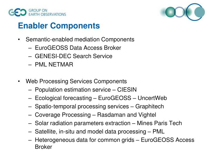 Enabler Components