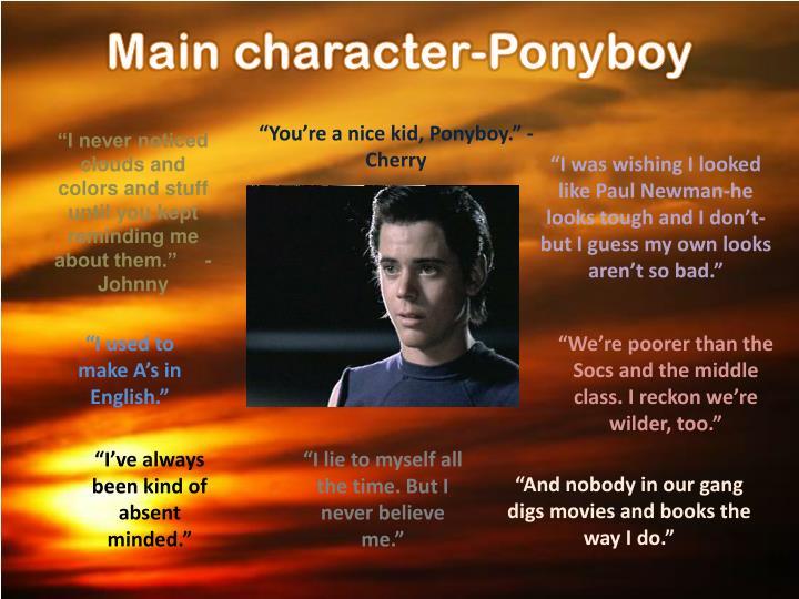 Main character-
