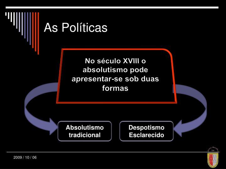 As Políticas