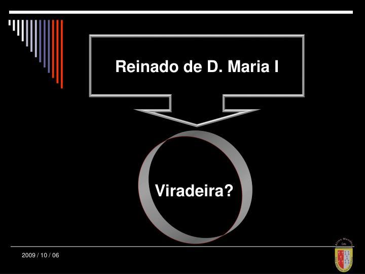 Reinado de D. Maria I