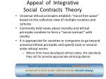 appeal of integrative social contracts theory