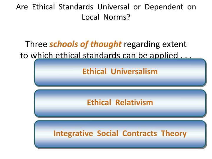 Ethical  Universalism