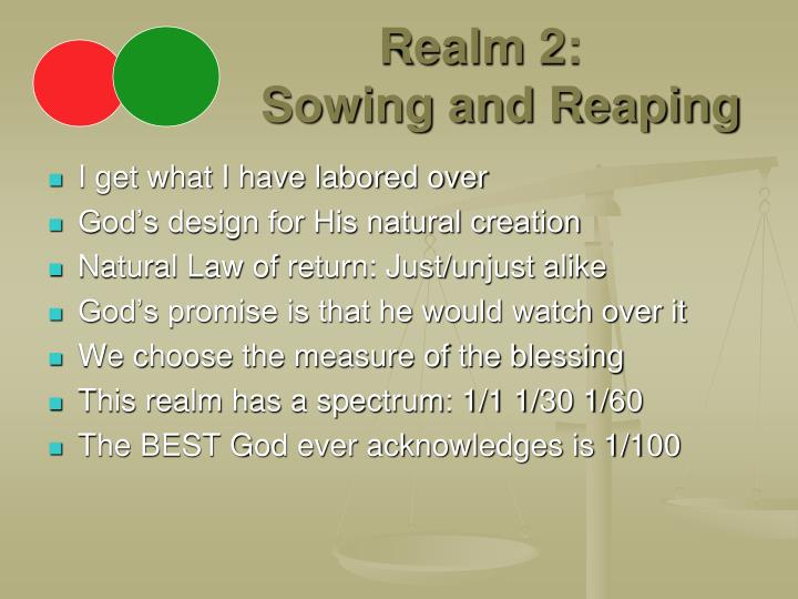 Realm 2 sowing and reaping