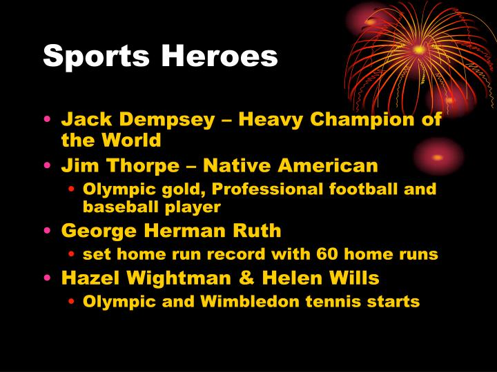 Sports Heroes