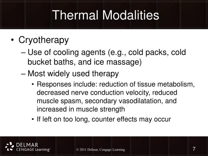 Thermal Modalities