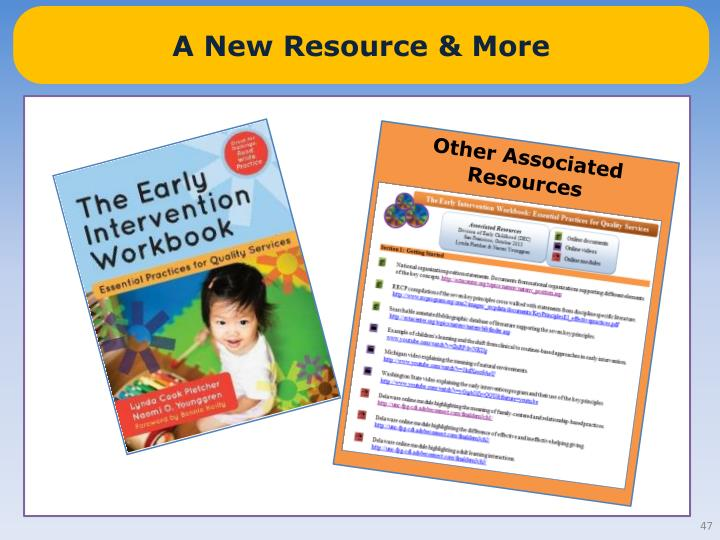 A New Resource & More