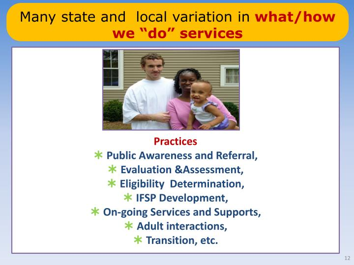 Many state and  local variation in