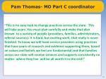 pam thomas mo part c coordinator