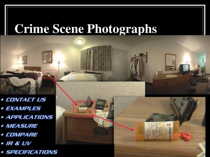 Crime Scene Photographs