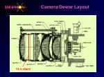 camera dewar layout