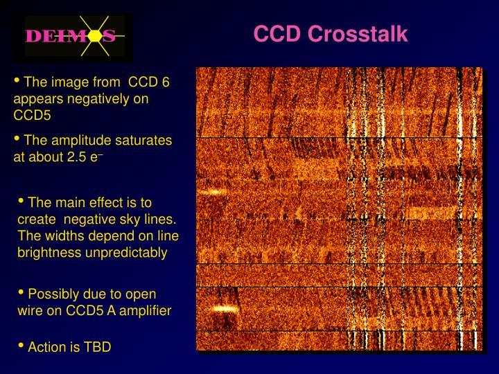 CCD Crosstalk