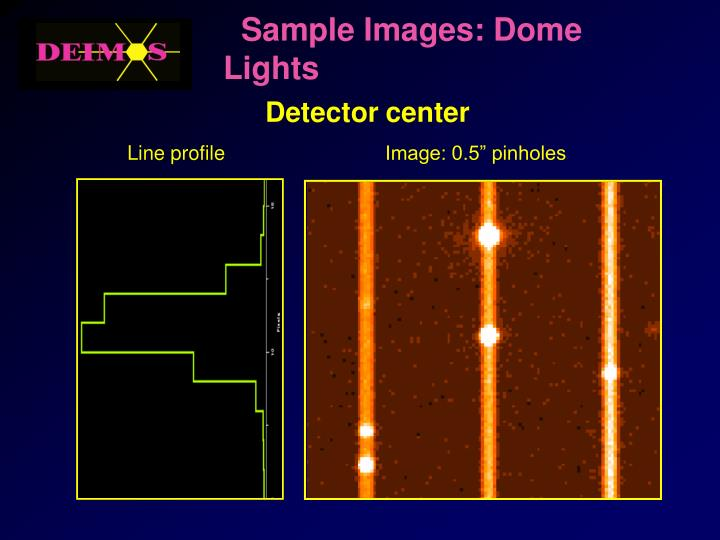 Sample Images: Dome Lights