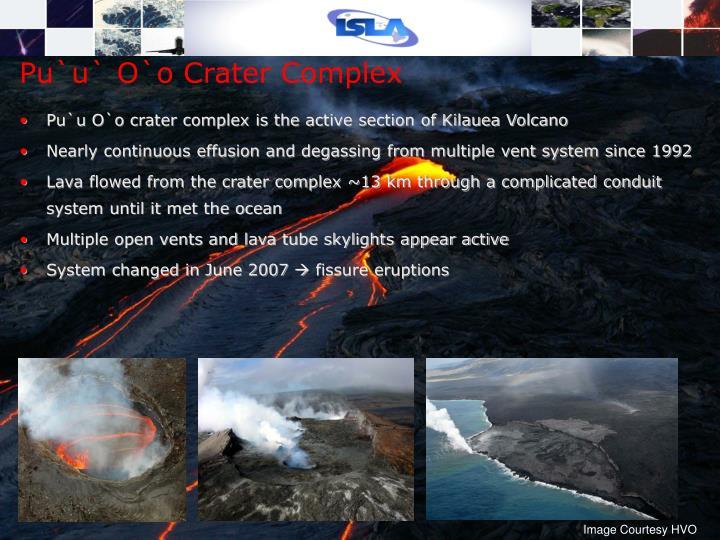 Pu`u` O`o Crater Complex