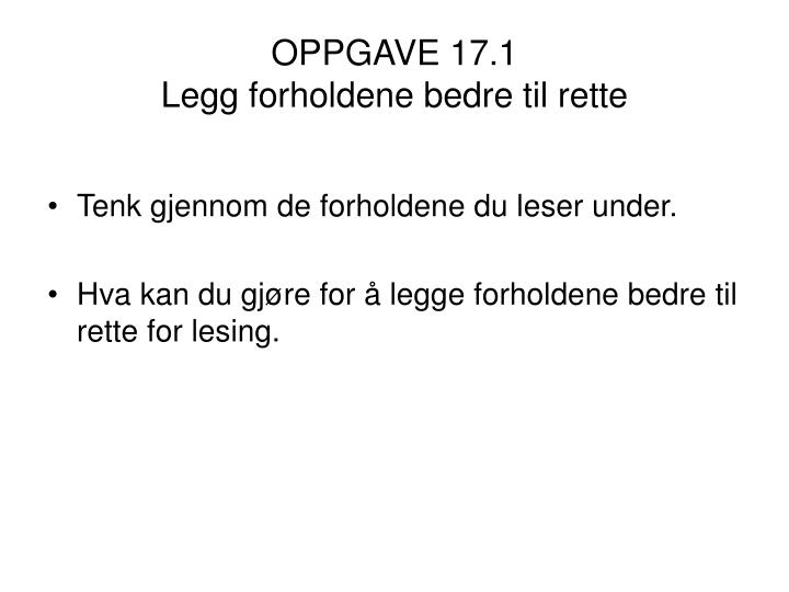 OPPGAVE 17.1