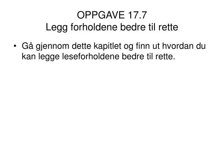 OPPGAVE 17.7