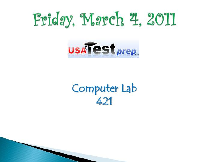 Friday, March 4, 2011
