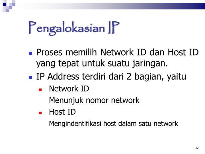 Pengalokasian IP