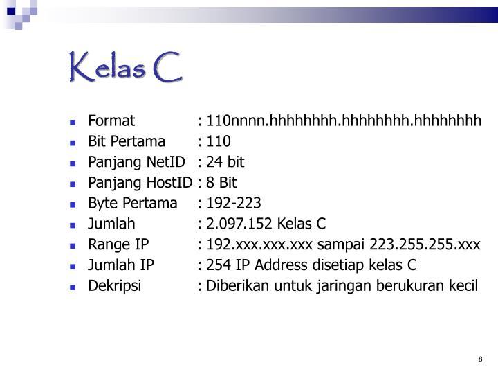 Kelas C