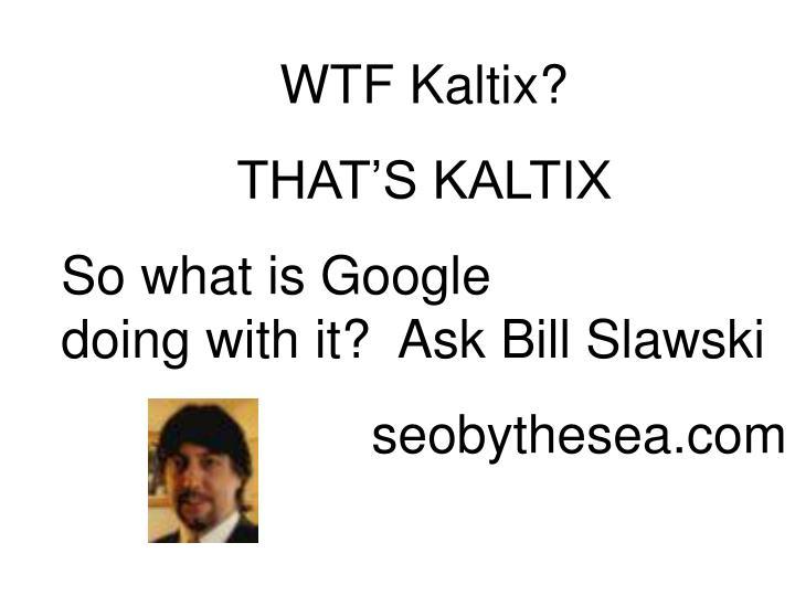 WTF Kaltix?
