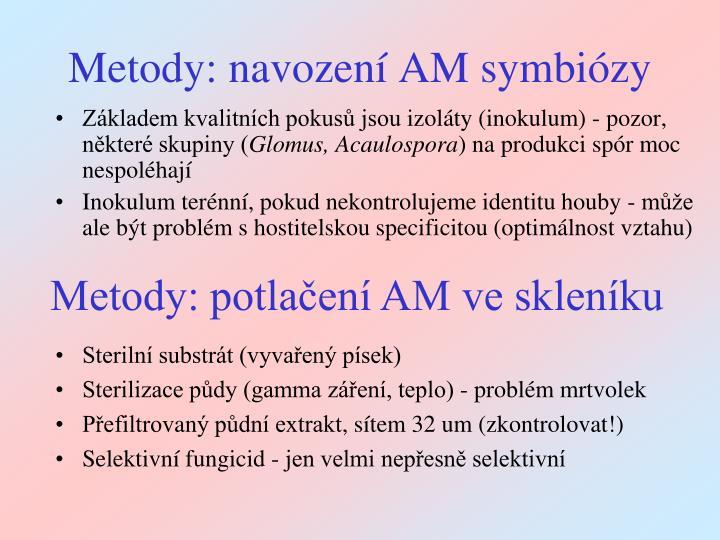 Metody: