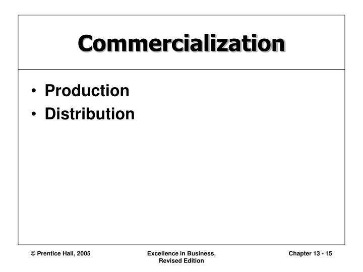 Commercialization
