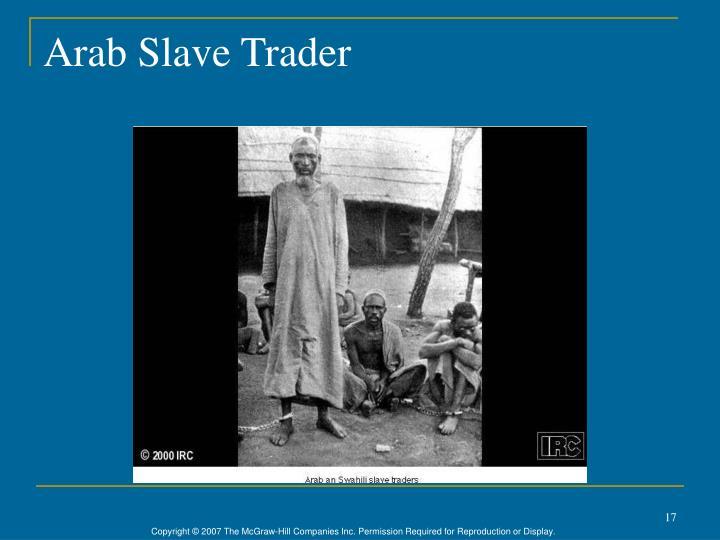 Arab Slave Trader