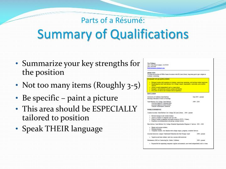 ppt - writing your r u00e9sum u00e9 career center workshop powerpoint presentation